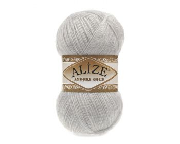 Alize Angora Gold 208 Light Grey Melange