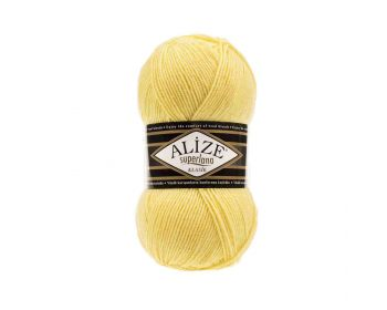 Alize Superlana Klasik 187 Light Yellow