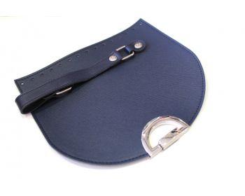 Καπάκι Ημικύκλιο με Χεράκι 25x22εκ Μπλε Σκούρο