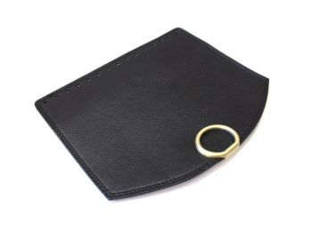 Καπάκι Round με Στρογγυλό Κούμπωμα 25εκ Μαύρο