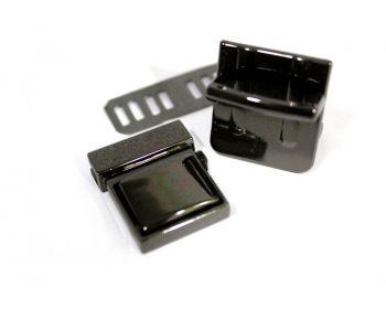 Κούμπωμα Σχολικό 3mm Μαύρο Νίκελ