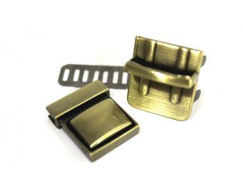 Κούμπωμα Σχολικό 3mm Μπρονζέ