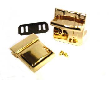 Κούμπωμα Σχολικό 3mm Χρυσό