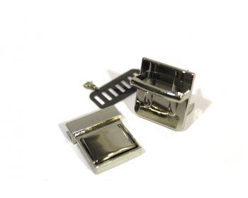 Κούμπωμα Σχολικό 3mm Νίκελ
