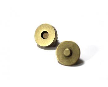 Μαγνητάκι με ποδαράκι 18mm Μπρονζε