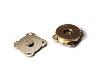 Μαγνητάκι Ραφτό 18mm Χρυσό