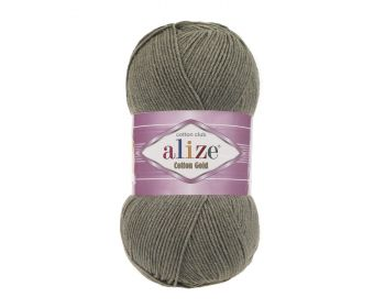 Alize Cotton Gold 270 Khaki Melange