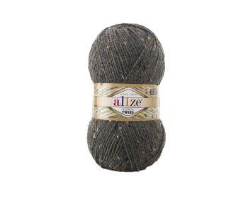 Alpaca Tweed 196 Medium Grey Melange